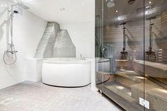 Tyylikäs kylpyläosasto ullakkohuoneistossa - Etuovi.com Ideat