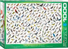 The World of Birds - 1000pc jigsaw puzzle