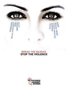 Stop the Violence AGAINST WOMEN & CHILDREN !