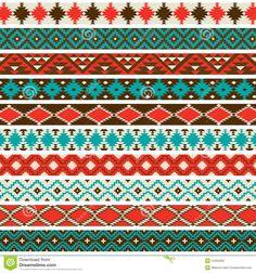 native american pattern blue - Sök på Google