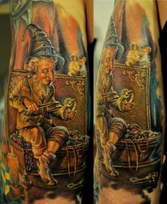 Never seen a tattoo like this, looks amazing!