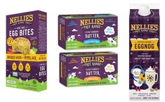 Nellie's Free Range Eggs enters new categories with expanded offering - FoodBev Media Doughnut Muffins, Food Packaging Design, Broccoli Cheddar, Free Range, Sous Vide, Grocery Store, Dairy, Eggs, Donut Muffins