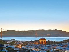 Stunning Italianate Masion with views of teh Golden Gate Bridge, San Francisco Bay.