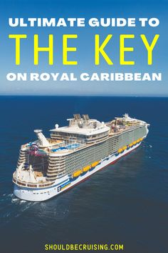 The Key on Royal Caribbean is a for-a-fee program offering priority boarding, private hours at onboard activities, preferred theater seating, and more. But is it worth the money? Find out if this is a perk you want to pay for, plus helpful RCI cruise tips to get the most out of this program on your vacation. Best Cruise, Cruise Port, Cruise Travel, Cruise Vacation, Packing List For Cruise, Cruise Tips, Cruise Destinations, Amazing Destinations, Cruise Planners