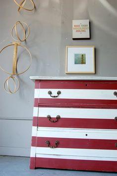 Nautical theme dresser