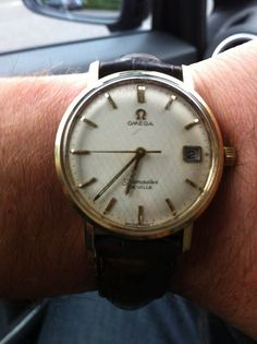 Vintage Omega From my competition - a watch from one of my readers