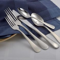 The SMI line has been designed to be affordable for those who still want quality flatware without compromising metal quality and durability. Made from the same high quality 18-10 stainless as our other product lines, the SMI line is designed in traditional American flatware sizes. The one-piece forged knife is heavy weight and balanced. The SMI line is designed to be used every day, is dishwasher safe and will maintain its luster for decades.  18-10 stainless Heavy weight forged knife…