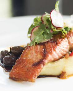 Salmon with chili and ginger - Chili-inkiväärilohi, resepti – Ruoka.fi