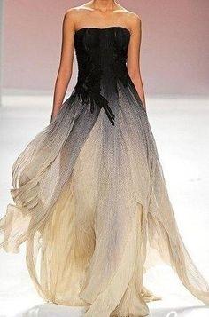 Ombré# gown#