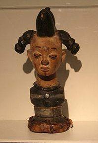 Afrrican Puppet Head