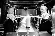 Unity candle ceremony | InterContinental Chicago | Nakai Photography