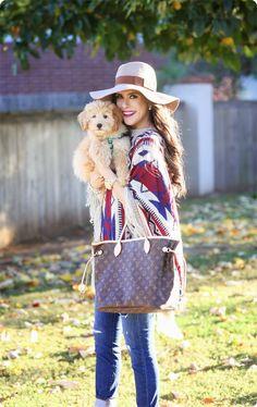 El bueno, el feo y el cuqui #poncho #moda #outfit #fashion