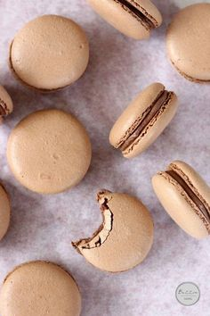 Chocolate Hazelnut Macarons | Butter Baking