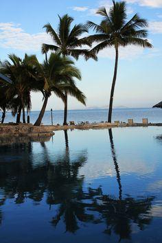 Enjoying the pool at Sonaisali Island Resort