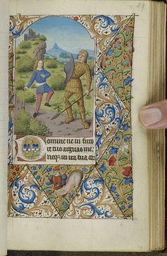 Book of Hours, MS M.2 fol. 99r - Images from Medieval and Renaissance Manuscripts - The Morgan Library & Museum