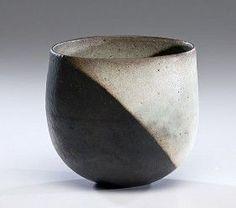 John Ward, ceramics | John Ward vase with two black orbs | Ceramics, Bowls and Forms | Pint ...