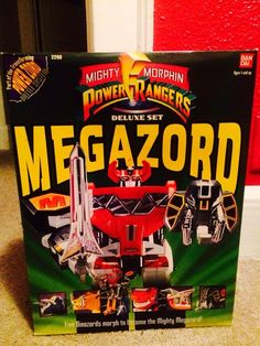 mighty morphin power rangers megazord