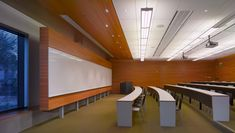 The Walter and Leonore Annenberg Center for Information Science and Technology, Caltech - Frederick Fisher and Partners Space Interiors, Office Interiors, School Architecture, Architecture Design, Lecture Theatre, Hall Interior, Learning Spaces, Higher Education, School Design