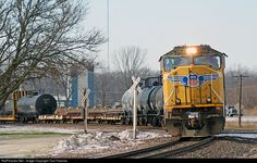 RailPictures.Net Photo: UP 3968 Union Pacific EMD SD70M at Pleasant Valley, Iowa by Tom Farence