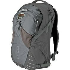 Buy Osprey Packs Momentum 34 Backpack - 1920-2040cu in Carbide S/M price - As you round the corner on two wheels (on a bicycle of course) and peel out after the hybrid making for the green light your trusty Osprey Momentum 34 Backpack holds your essential gear securely to your back. With your cell phone keys and laptop all...