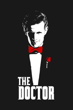 A Doctor Who t-shirt by ddjvigo/Denís Orio Ibáñez. Mashup with the Doctor + The Godfather. Doctor Who T Shirts, Doctor Who Funny, Doctor Who 10, 12th Doctor, Virginia Woolf, Best Sci Fi Shows, Tv Shows, Sherlock, Doctor Who Wallpaper