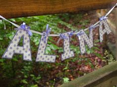 Fabric Name Banners - https://www.etsy.com/shop/WentzelDesigns?ref=hdr_shop_menu