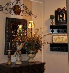 Tuscan style – Mediterranean Home Decor Tuscan Style Homes, Tuscan House, Tuscan Decorating, French Country Decorating, Decorating Ideas, Tuscany Decor, World Decor, Tuscan Design, Mediterranean Home Decor