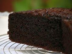 Receta Postre : Tarta humeda de chocolate por Reinitartas