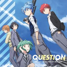 Hehe when I found out they where all really close to my age I flipped out fangirling! I could be with them if only I was in there world! :assassination classroom: