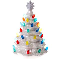 Ceramic Christmas Tree with Lights - MY FAVORITE decoration my ...