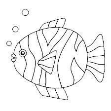Pesci da colorare d 39 acqua salata e dolce grazia for Disegni di pesci da colorare per bambini