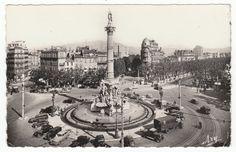 Postcards - France #  726 - Castellane Square, Marseille