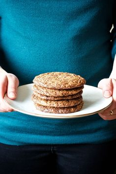 Store chokoladecookies med mandler Muffin, Sweets, Snacks, Cookies, Breakfast, Store, Kaffe, Let, Inspiration