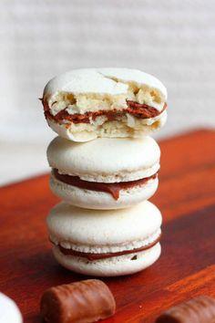 Macaron-leivokset pätkistäytteellä (ja italialaisella marengilla) - Suklaapossu