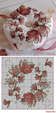 Thrilling Designing Your Own Cross Stitch Embroidery Patterns Ideas. Exhilarating Designing Your Own Cross Stitch Embroidery Patterns Ideas. Biscornu Cross Stitch, Cross Stitch Heart, Cross Stitch Flowers, Cross Stitch Embroidery, Embroidery Patterns, Hand Embroidery, Cross Stitch Designs, Cross Stitch Patterns, Loom Patterns