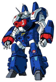"""Valkyrie VF 1J """"Armored Valkyrie"""". The armor plating needs to be shed for the machine to transform from Battloid to Fighter or GERWALK modes."""
