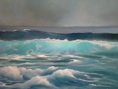 "Avril Callanan - ""Turquoise Waves"" - Contemporary Art"