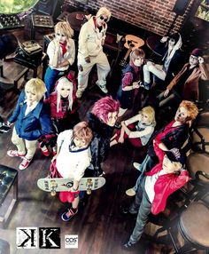 K Project cosplay // oh my, this group just made me so happy with that photo!!! This is simply grand!
