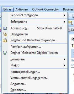 outlook 2003 offline adressbuch