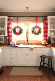 Gingerbread House On Cake Stand Large Red Plaid Curtains