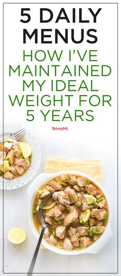 Lose weight the healthy and delicious way!