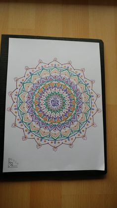 Mary's Zentangle Mandala