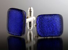 A personal favourite from my Etsy shop https://www.etsy.com/uk/listing/239092158/deep-blue-cufflinks-bright-blue