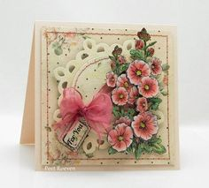 penny black stamps hollyhocks - Google Search