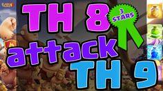 Clash of Clans TH 8 Attack TH 9 3 Stars Clan War   Y Channel : https://www.youtube.com/channel/UC2SiB2IYhPOqAZZIeB4BNmQ