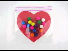 Blow My Heart Up - Bubble Gum Valentine Craft Idea