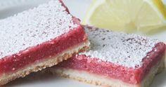 the baker upstairs: raspberry lemonade bars