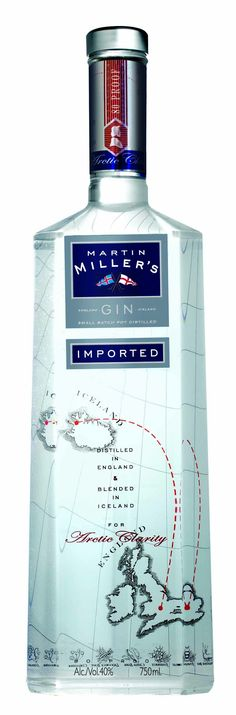 Martin Miller's Gin which features in many of our cocktails at The Arch Bar