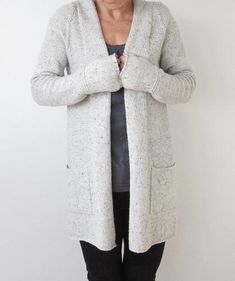 This is named after a beautiful loop at one of my favourite Nordic ski destinations. The cardigan is worked from the top down, in one piece, with false stocking stitch Knitting Patterns, Crochet Patterns, How To Purl Knit, Pulls, Knitting Projects, Knit Crochet, Crochet Jacket, Knitwear, Clothes