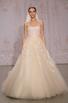 The Top Looks from Bridal Fashion Week - The Best Wedding Dresses from Bridal Fashion Week Fall 2015 - StyleBistro